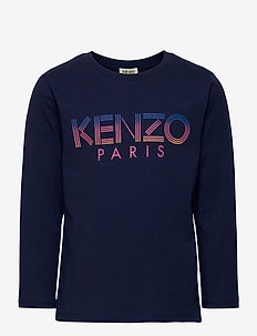 LOGO JG 1 - long-sleeved t-shirts - marine blue