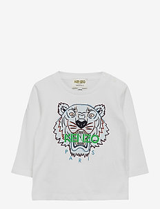 TIGER BB 2 - long-sleeved t-shirts - white