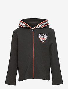 CARDIGAN - hoodies - black