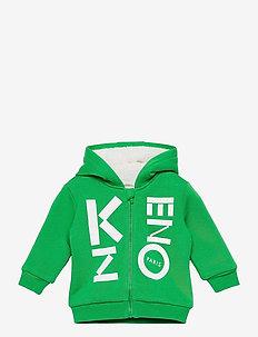 CARDIGAN - hoodies - green