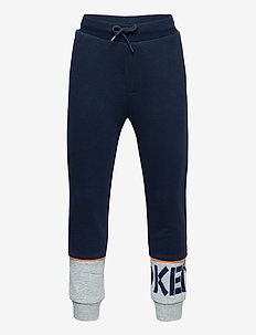 LOGO JB 14 - sweatpants - navy blue