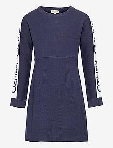 DRESS - jurken - marine blue