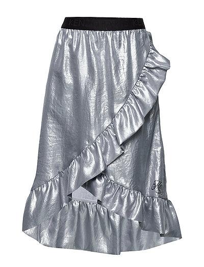 Joy Knielanges Kleid Blau KENZO