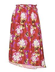 Skirt Main - MEDIUM RED