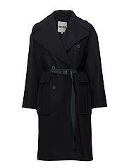 Coat Main - NAVY BLUE