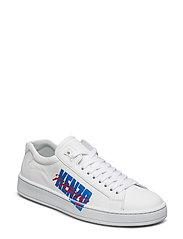 Low Top Sneaker Main - WHITE