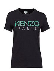Knitted T-shirt Main - BLACK