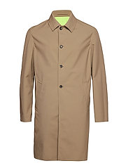 Rain Coat Main - DARK BEIGE