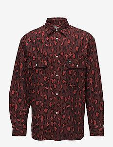 Casual shirt Main - MEDIUM RED