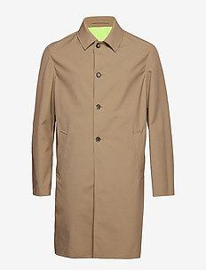 Rain Coat Main - DARK BEIGE
