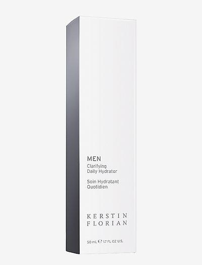 MEN Clarifying Daily Hydrator - fuktpleie - no color