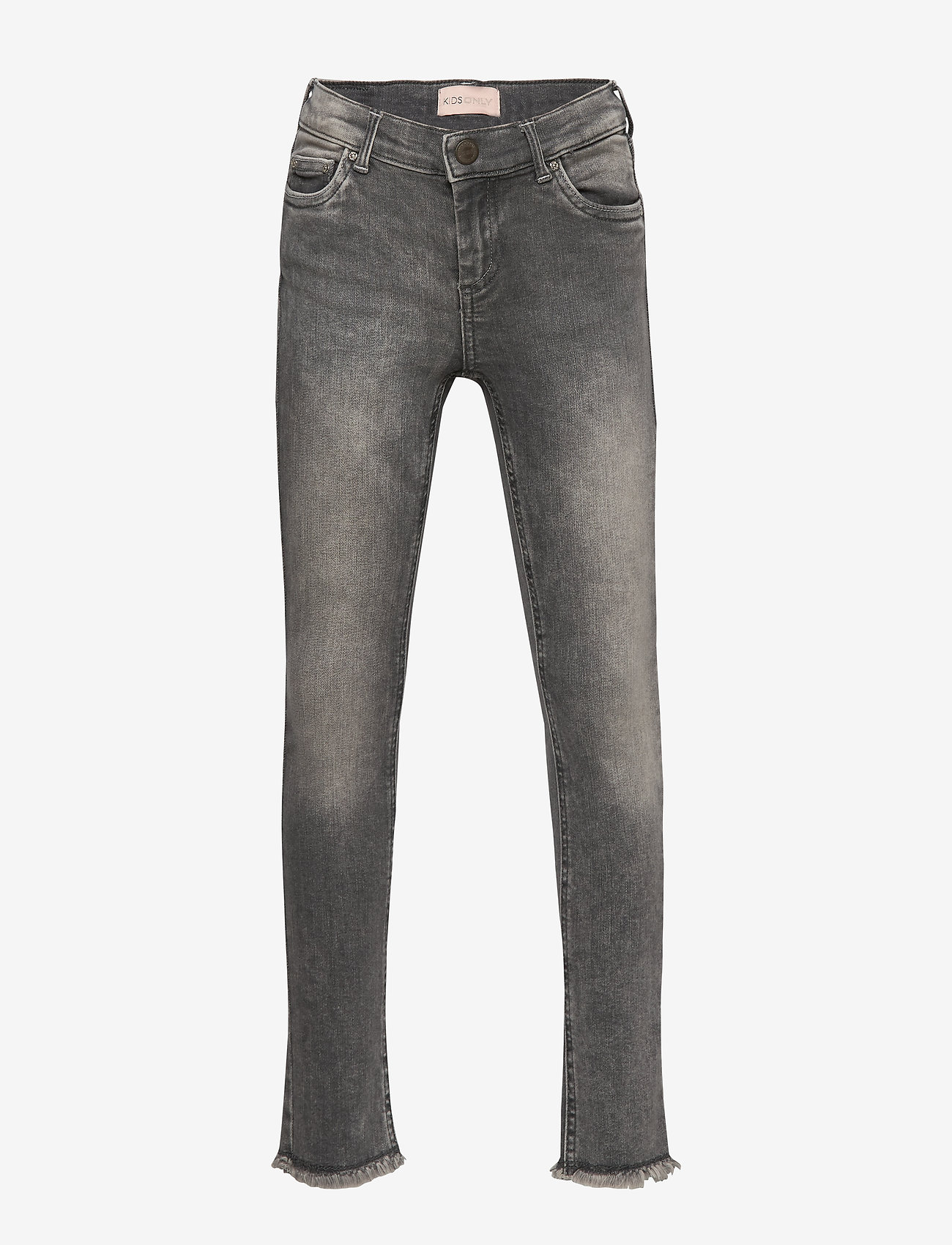 Kids Only - KONBLUSH SKINNY RAW JEANS 0918 NOOS - jeans - grey denim - 0