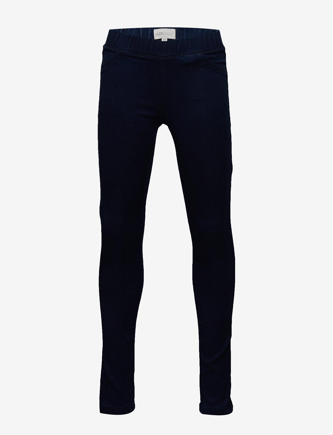 Kids Only - KONJUNE ROYAL DNM JEGGINGS 501 - jeans - dark blue denim - 0