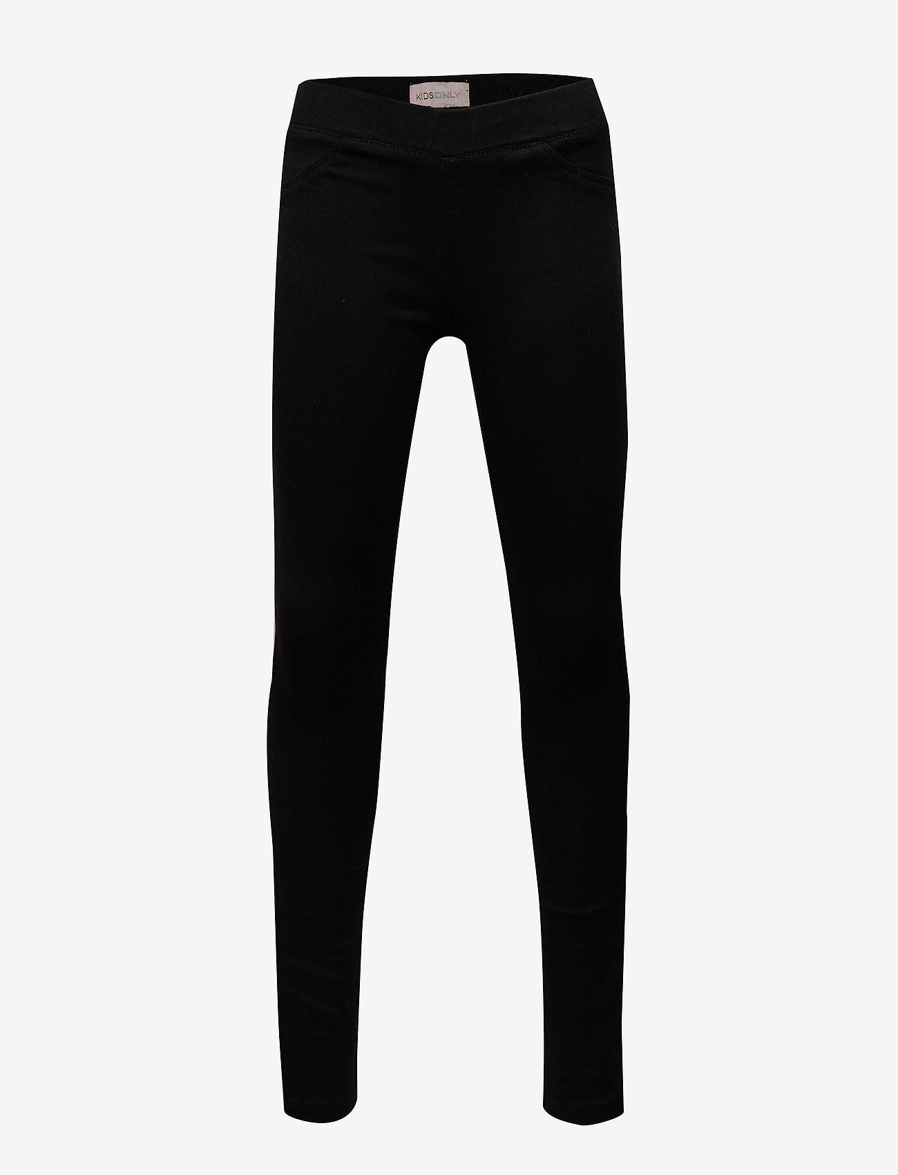 Kids Only - KONJUNE ROYAL DNM JEGGINGS 600 NOOS - leggings - black denim - 0