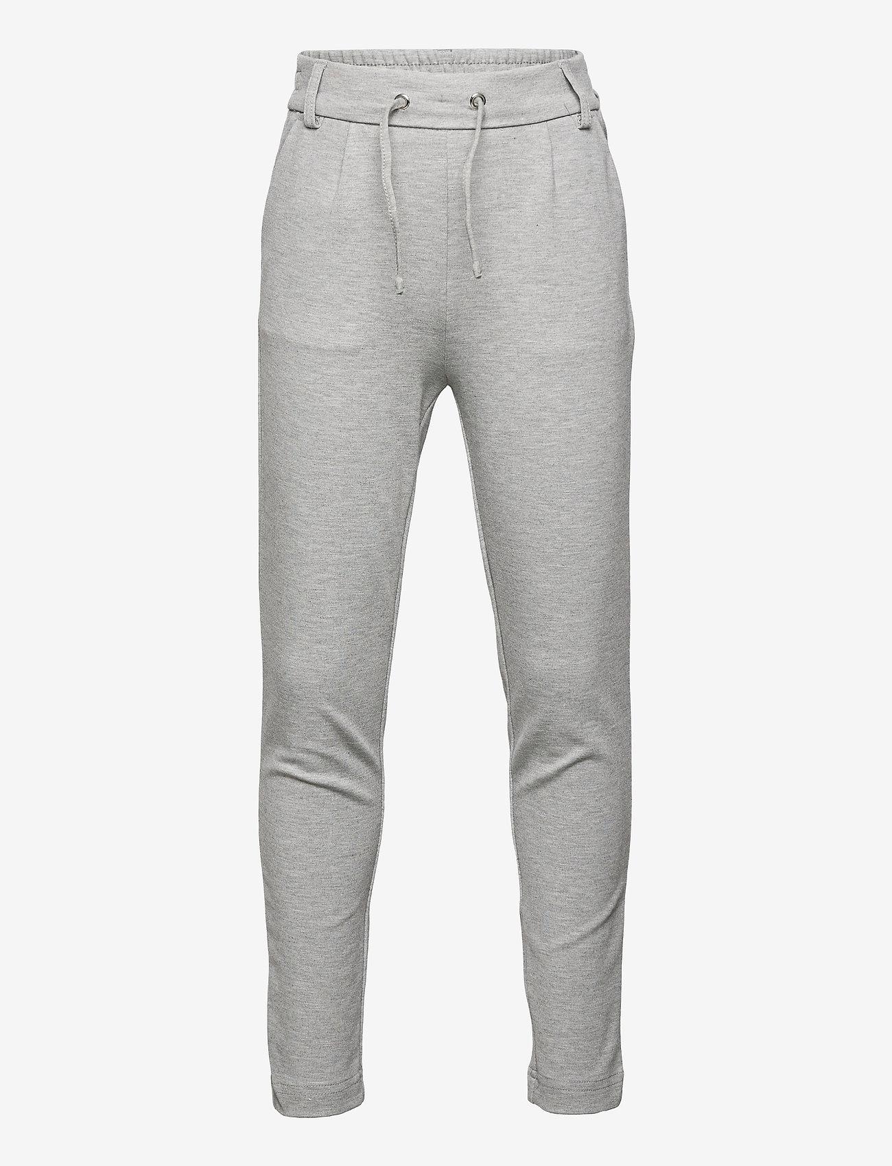 Kids Only - KONPOPTRASH EASY PANT PNT NOOS - jogginghosen - light grey melange - 0