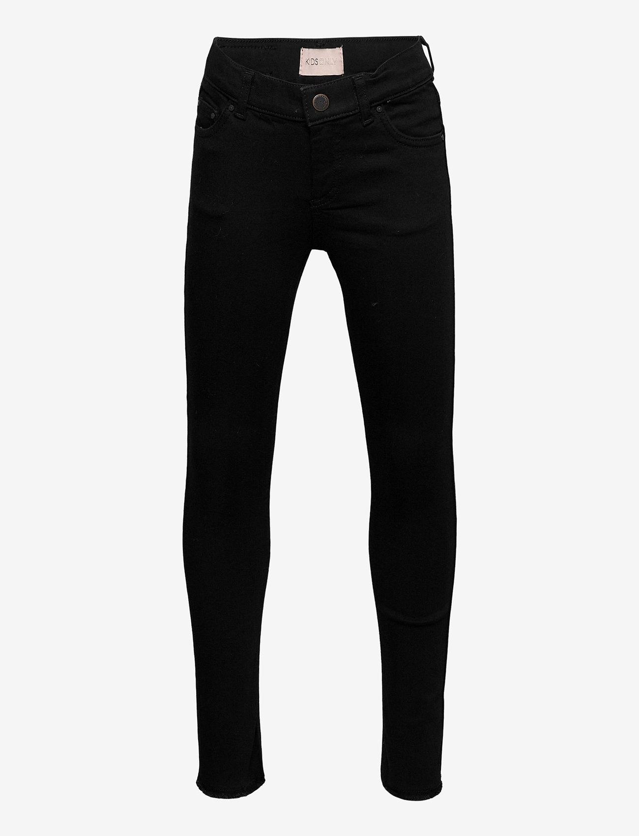 Kids Only - KONBLUSH SKINNY JEANS 2343 - jeans - black denim - 0