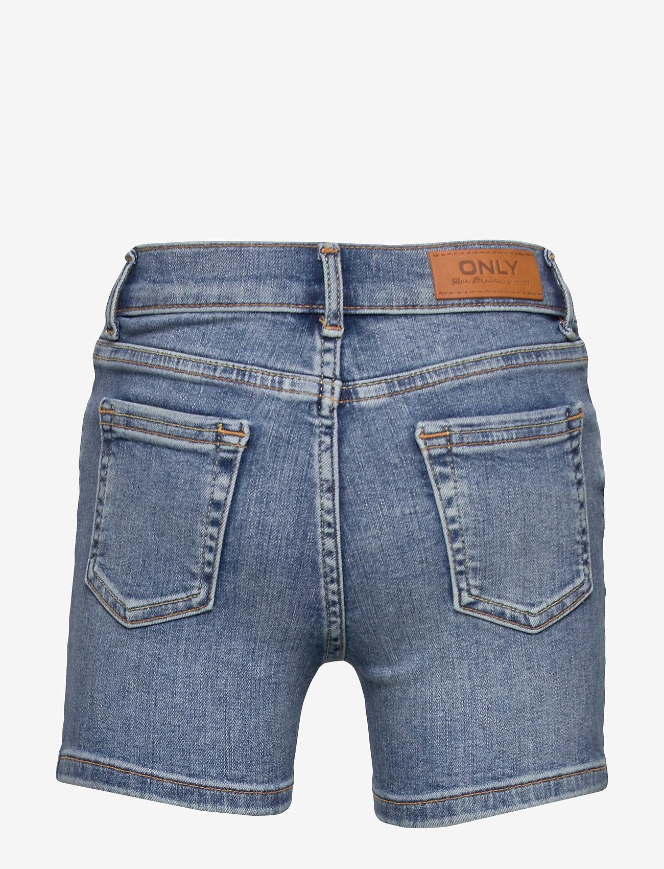 Kids Only - KONBLUSH DNM SHORTS 1303 NOOS - shorts - medium blue denim - 1
