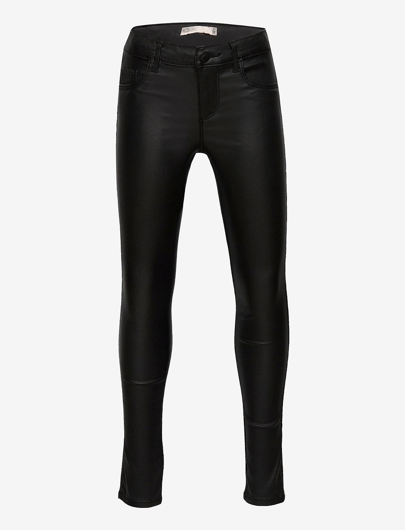 Kids Only - KONROYAL  SK  ROCK  COATED PNT PIM NOOS - jeans - black - 0