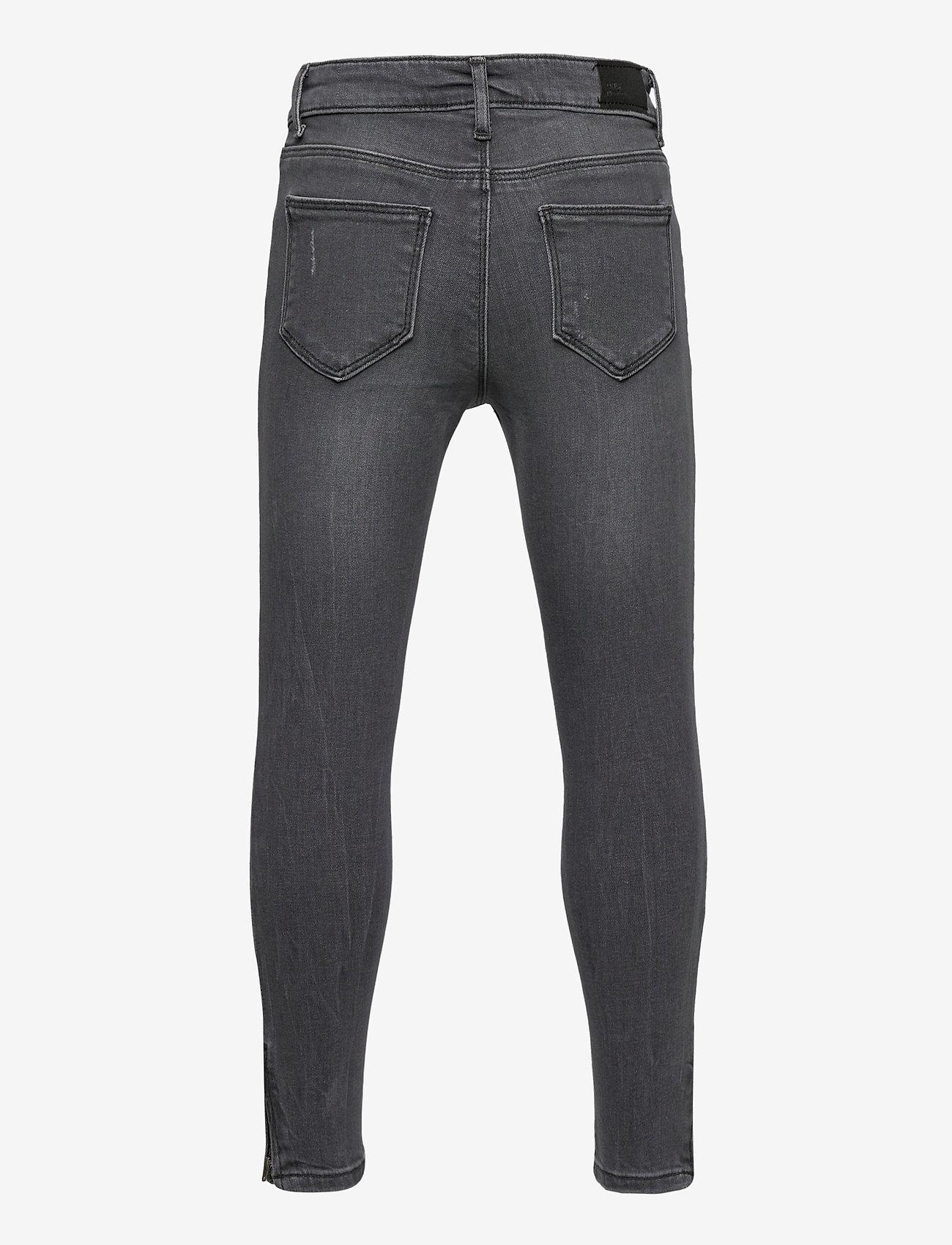 Kids Only - KONKENDEL GREY ZIP ANK JS CR 192708 NOOS - jeans - grey denim - 1