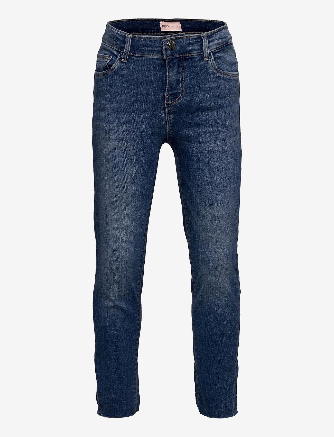 Kids Only - KONEMILY ST RAW  MED BLUE JEANS - jeans - medium blue denim - 0