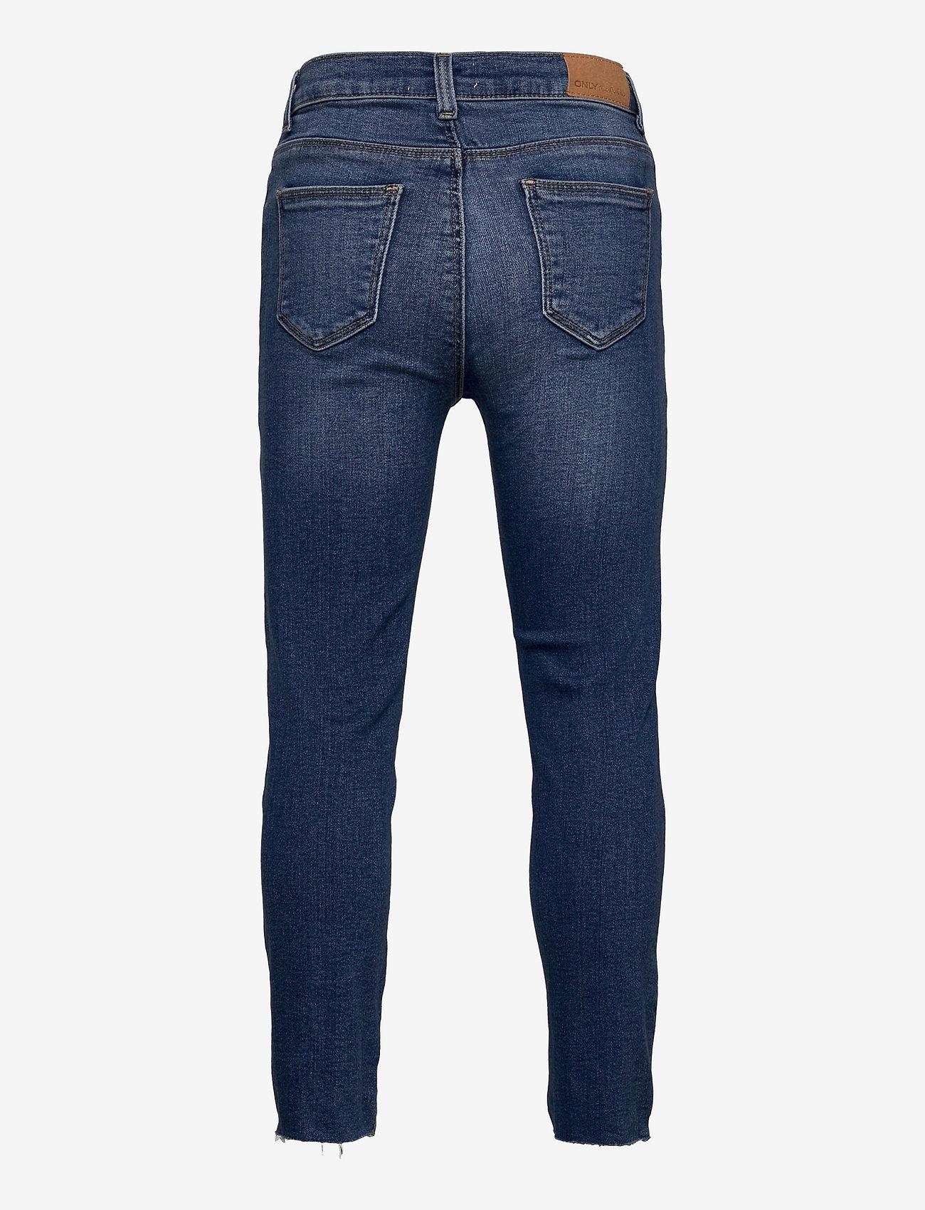 Kids Only - KONEMILY ST RAW  MED BLUE JEANS - jeans - medium blue denim - 1