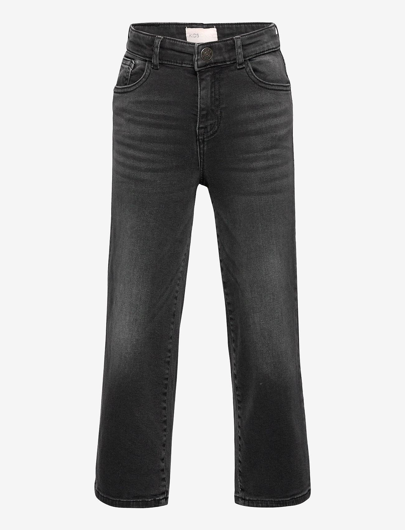 Kids Only - KONMADISON LIFE HW WIDE BLACK JEANS DNM - jeans - black - 0