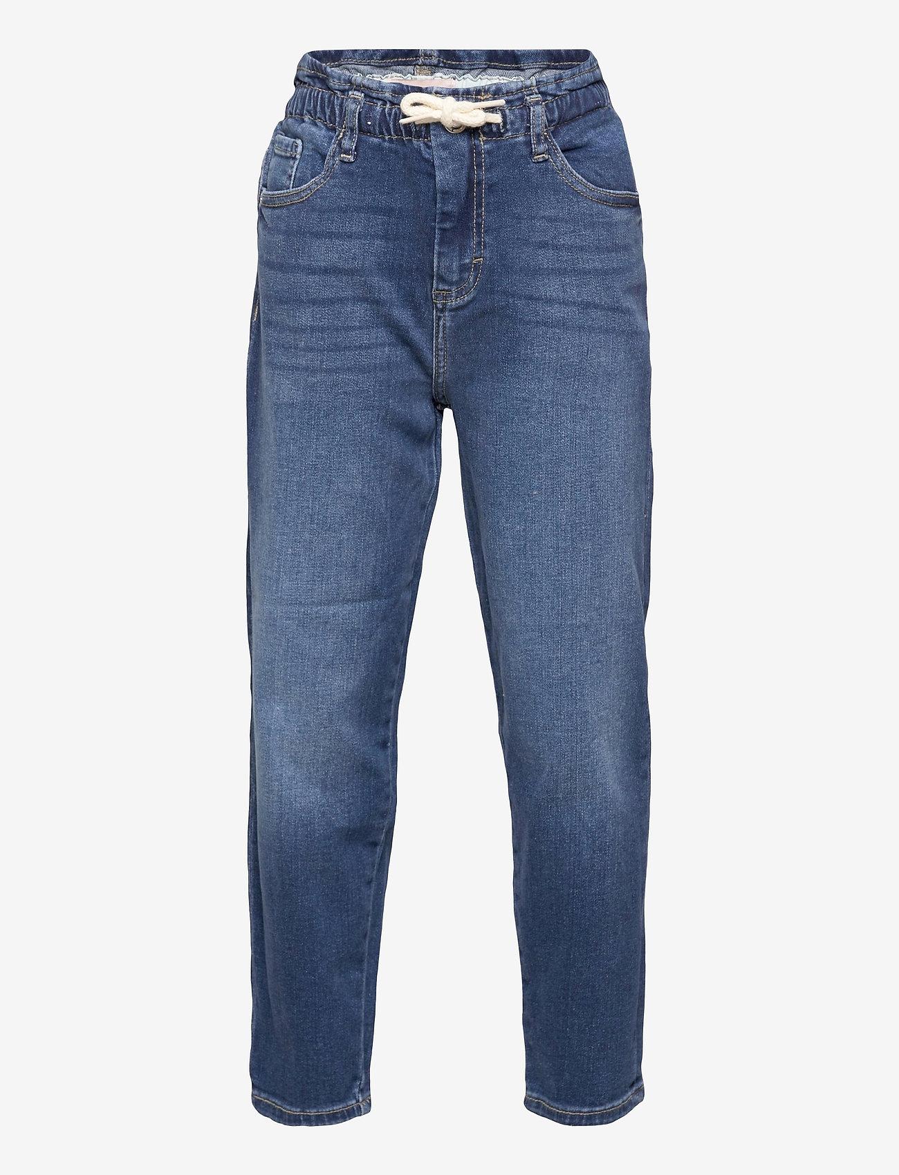 Kids Only - KONMAYA PAPERBAG DNM JEANS AZG - jeans - medium blue denim - 0