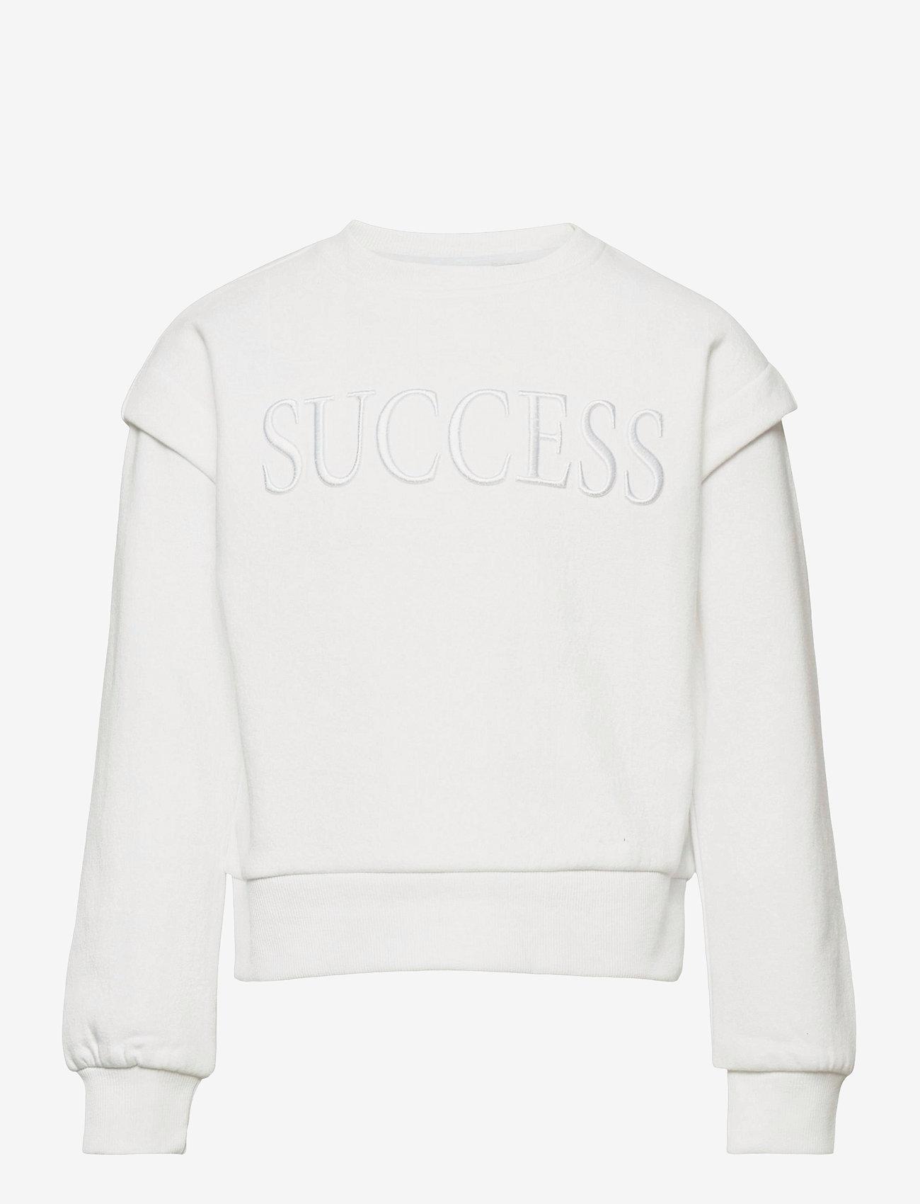 Kids Only - KONELLA L/S O-NECK SWT - sweatshirts - bright white - 0