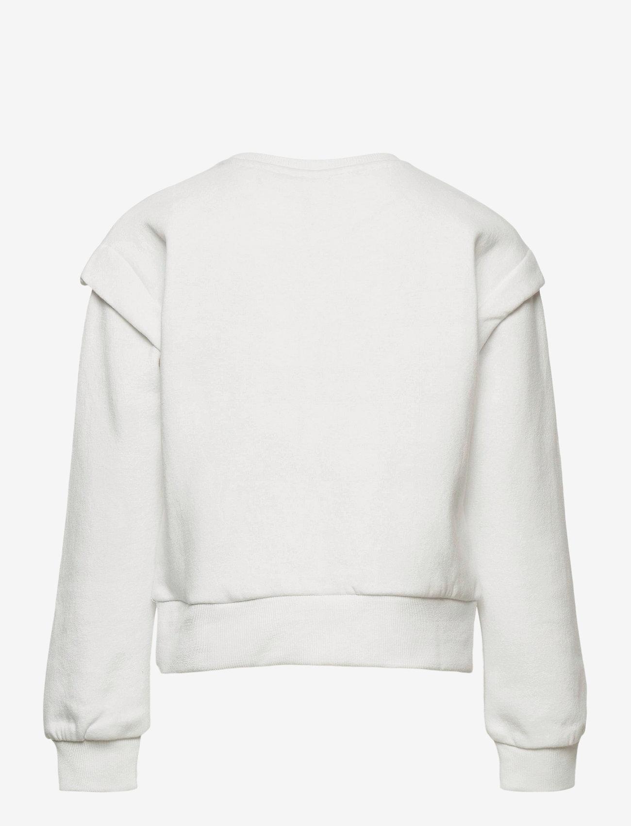 Kids Only - KONELLA L/S O-NECK SWT - sweatshirts - bright white - 1