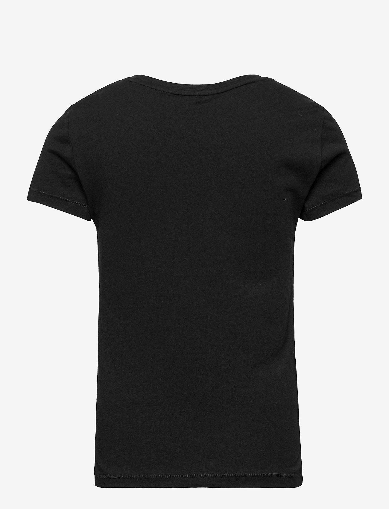Kids Only - KONBINA LIFE FIT S/S BOX TOP JRS - t-shirts - black - 1