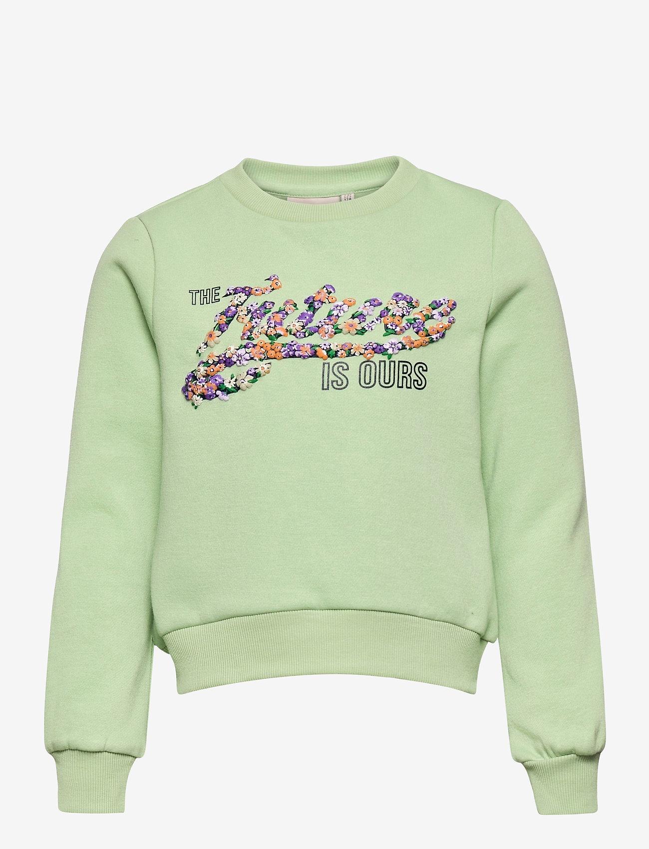 Kids Only - KONLILLIE L/S BOX SWT - sweatshirts - sprucestone - 0