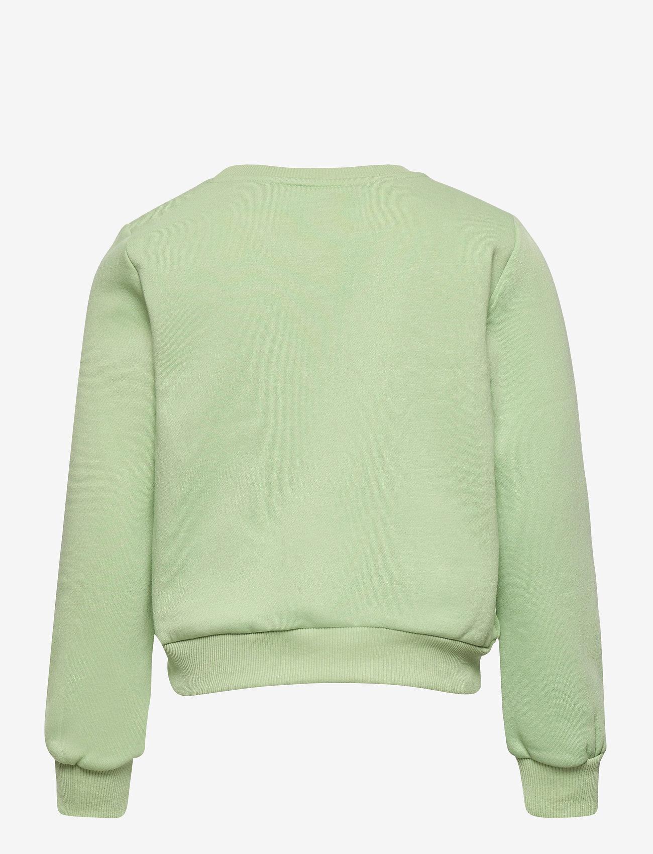 Kids Only - KONLILLIE L/S BOX SWT - sweatshirts - sprucestone - 1