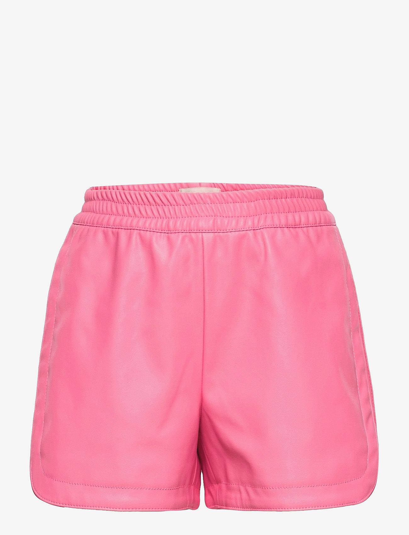 Kids Only - KONBELLA SPORTY PU SHORTS PNT - shorts - aurora pink - 0