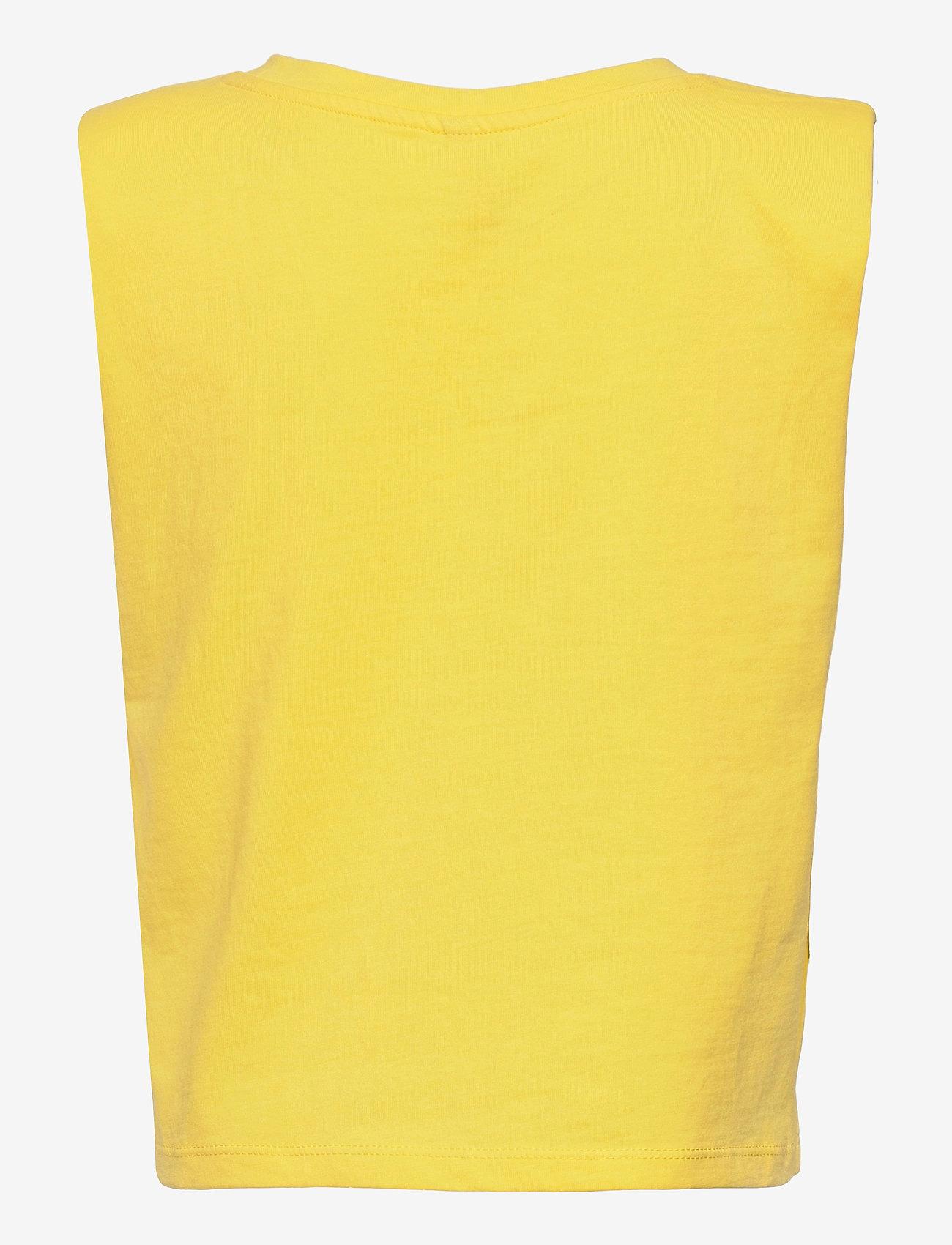 Kids Only - KONJEN LIFE S/L SHOULDER TOP JRS - t-shirts - aurora - 1