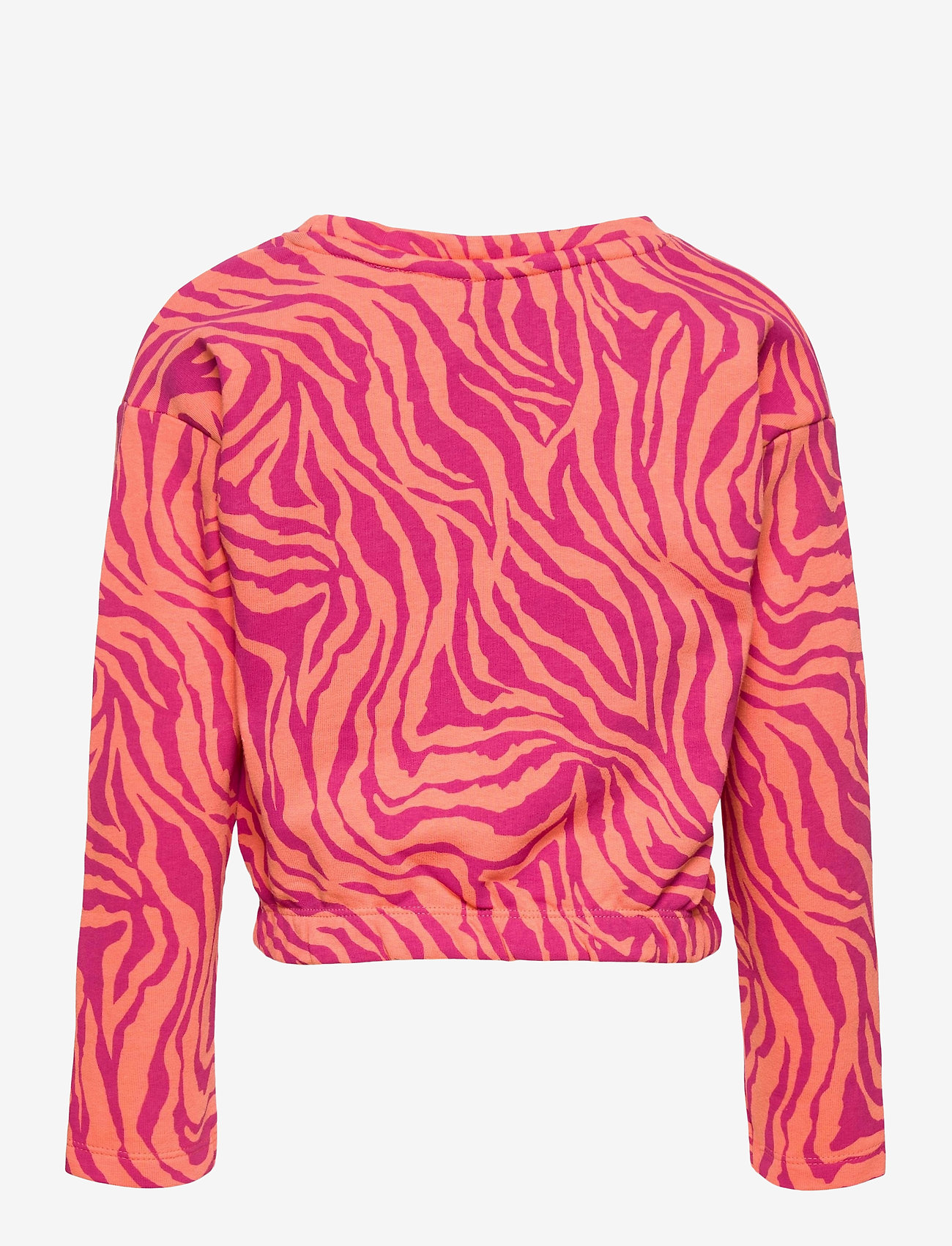 Kids Only - KONENSLEY LIFE L/S SHORT O-NECK SWT - sweatshirts - beetroot purple - 1
