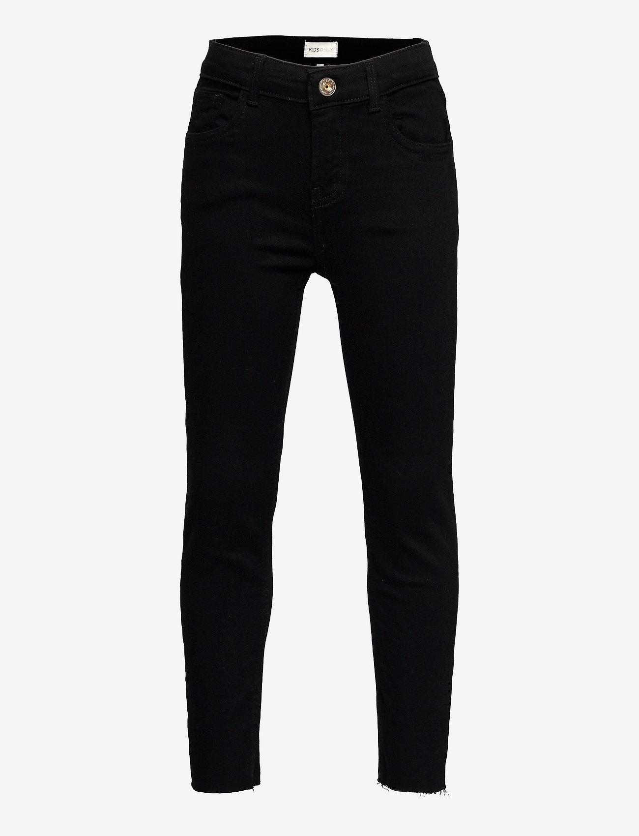 Kids Only - KONEMILY LIFE ST RAW  BLACK JEANS AZG161 - jeans - black - 0