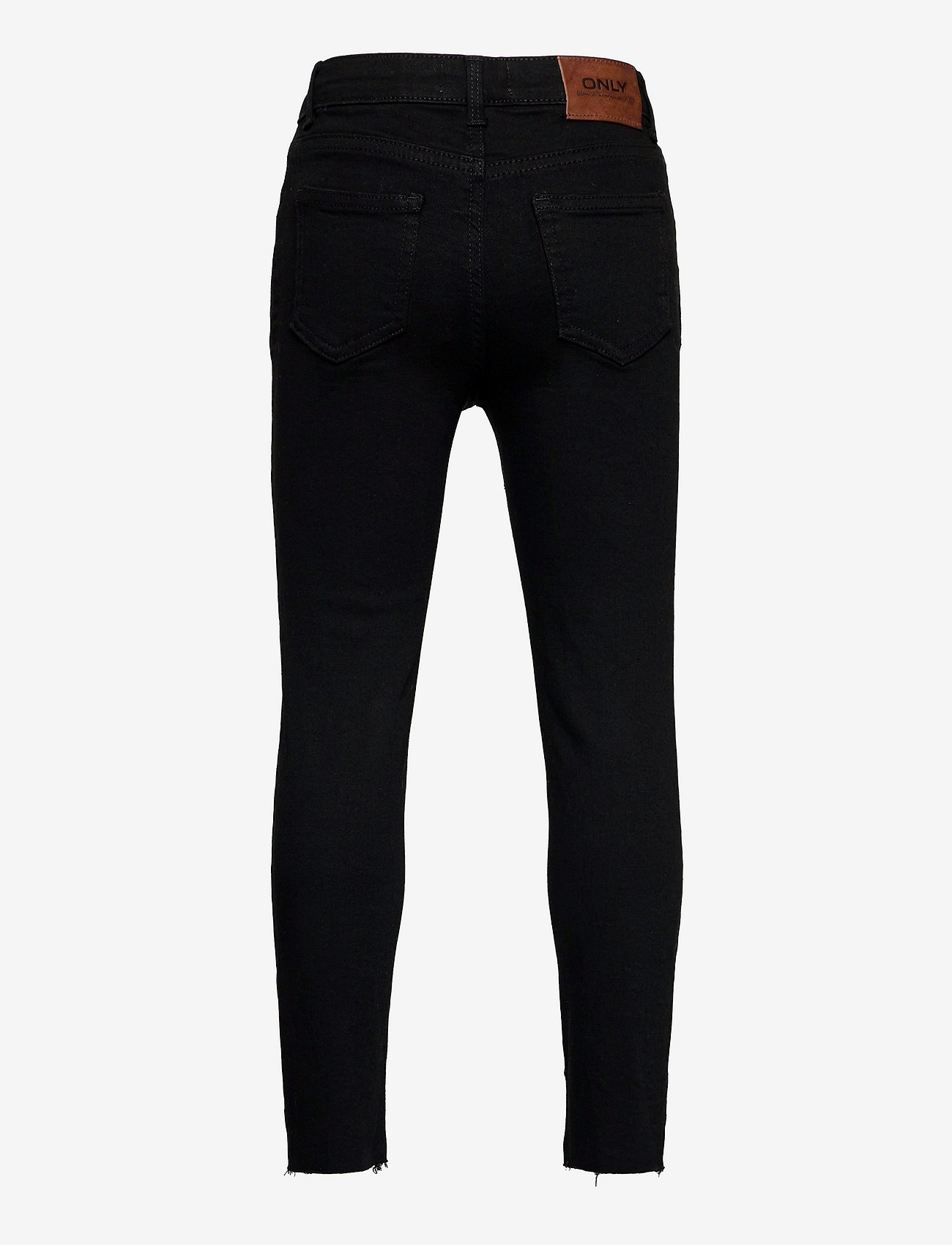 Kids Only - KONEMILY LIFE ST RAW  BLACK JEANS AZG161 - jeans - black - 1