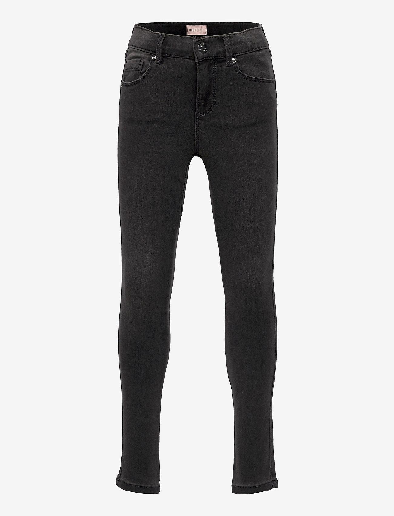 Kids Only - KONROYAL LIFE REG SKINNY BJ312 - jeans - dark grey denim - 0