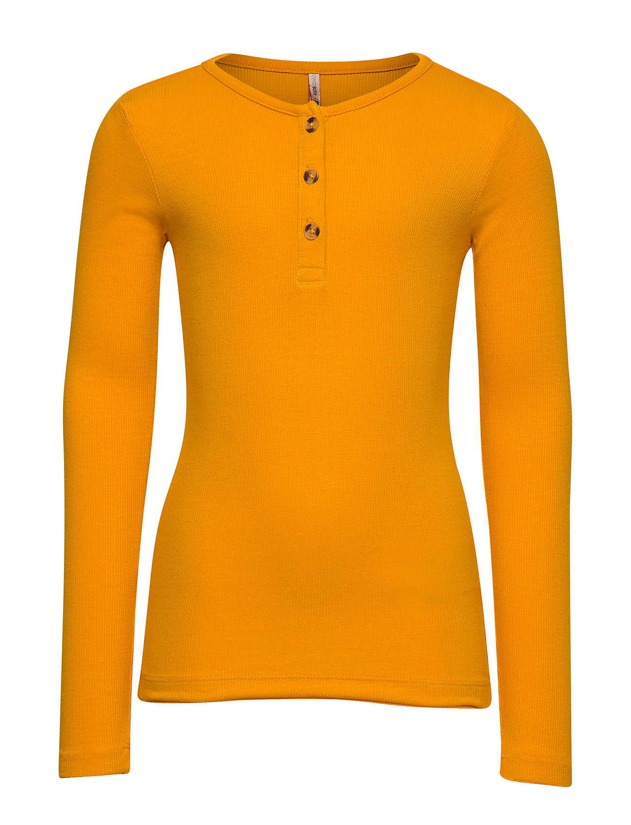 Kids Only KONPETRA L/S SKINNY  BLOUSE - CADMIUM YELLOW