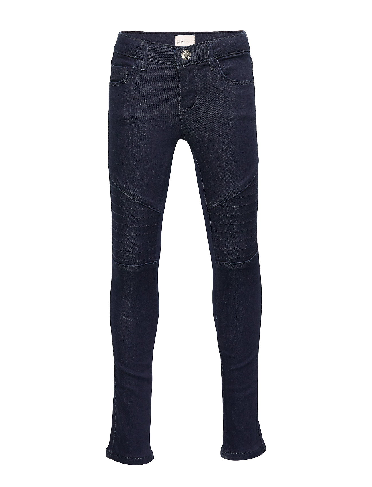 Kids Only KONJAY BIKER JEANS DB - DARK BLUE DENIM
