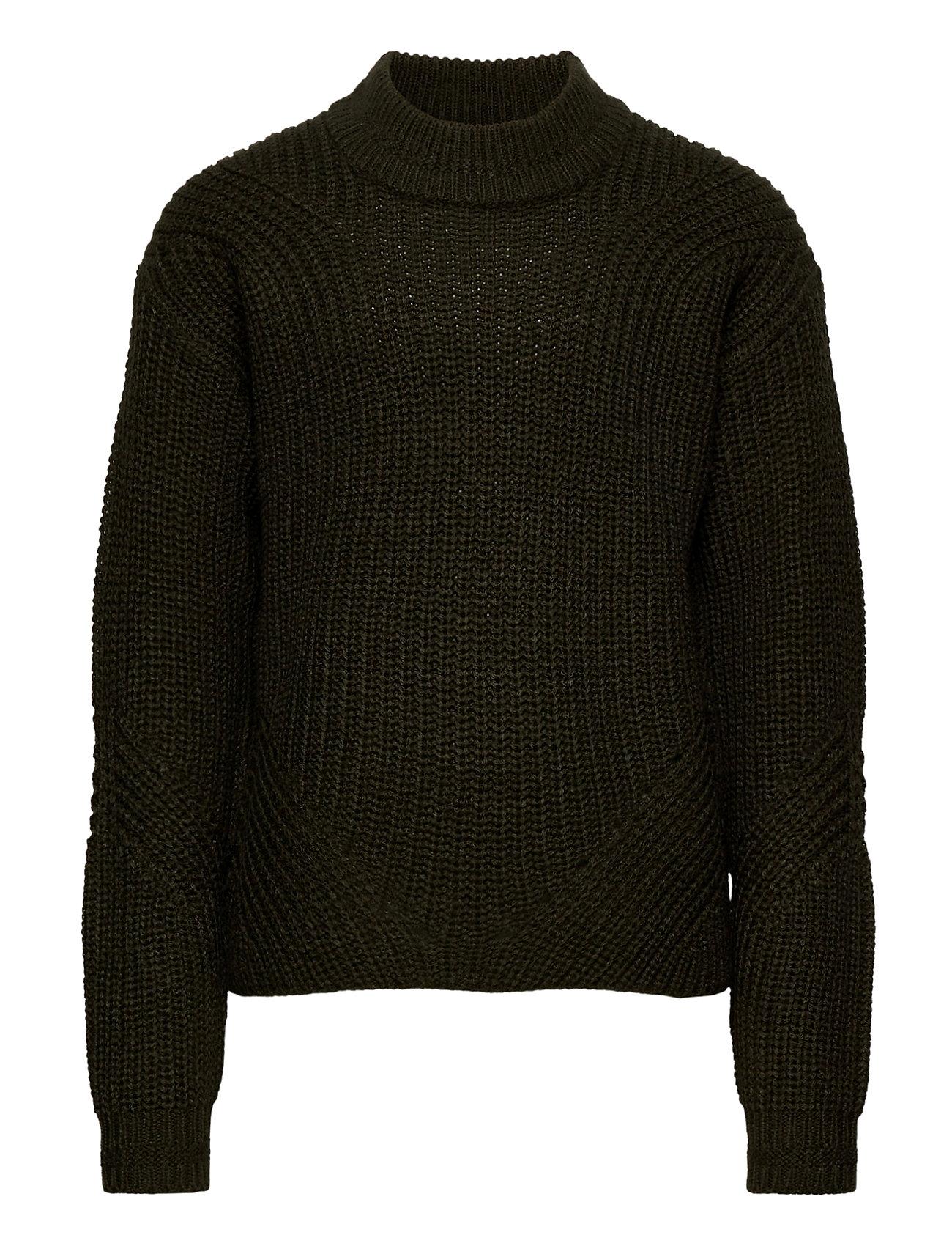 Image of Konriley L/S Pullover Knt Pullover Striktrøje Grøn Kids Only (3459220257)