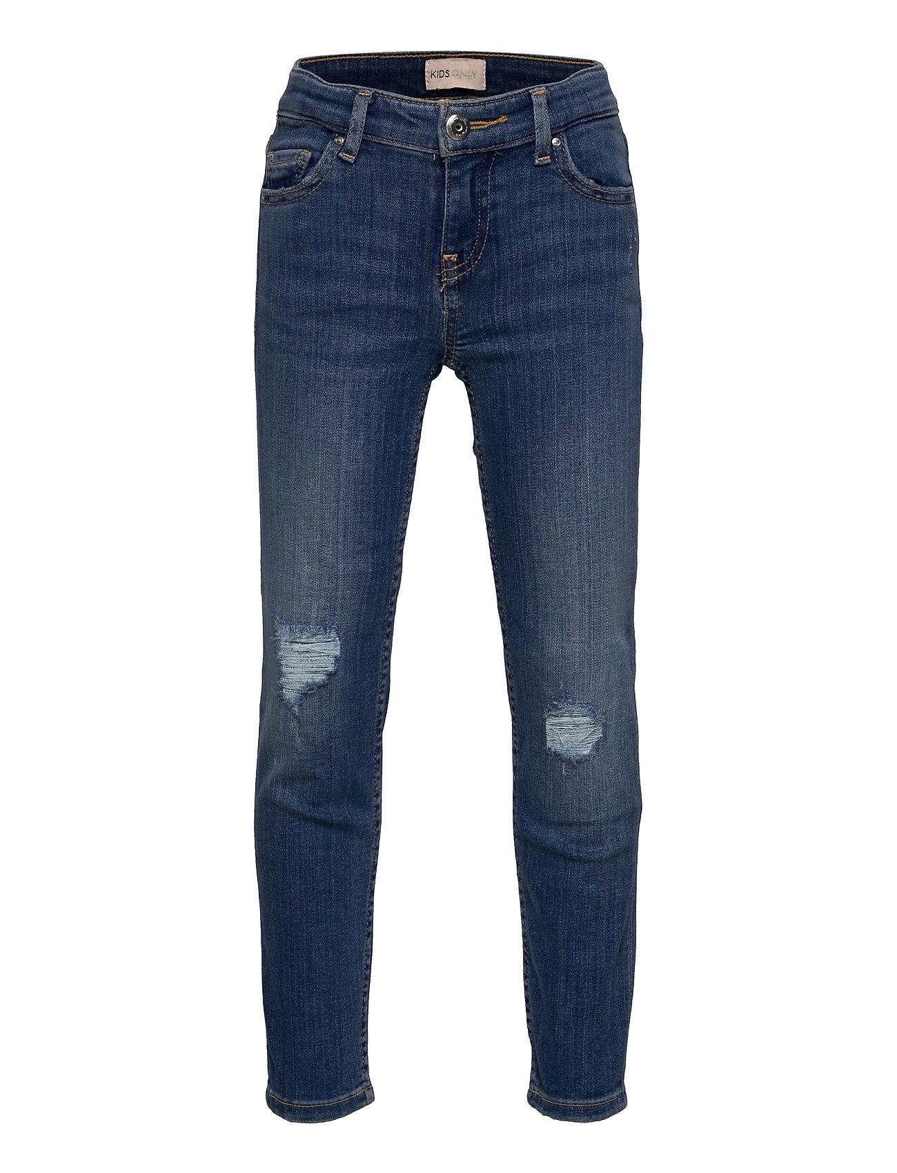 Konsophie Straight Ank Dest Dnm Cre681 Jeans Blå Kids Only