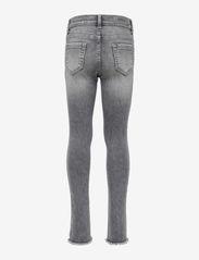 Kids Only - KONBLUSH SKINNY RAW JEANS 0918 NOOS - jeans - grey denim - 1