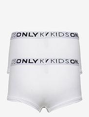 Kids Only - KONLOVE LIFE HIPSTER 2PACK - unterteile - bright white - 1