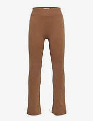 Kids Only - KONPAIGE FLARED PANT PNT NOOS - kleidung - toasted coconut - 0