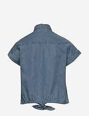 Kids Only - KONRONJA KNOT DNM SHIRT LB - blouses & tunics - medium blue denim - 1