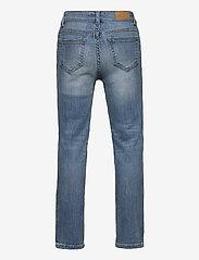 Kids Only - KONSOPHIE ANKLE STRAIGHT JEANS - jeans - light blue denim - 1