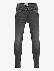 Kids Only - KONKENDEL GREY ZIP ANK JS CR 192708 NOOS - jeans - grey denim - 0