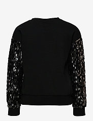 Kids Only - KONOLGA L/S SEQUINS SWT - sweatshirts - black - 1