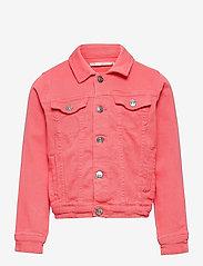 Kids Only - KONWONDER LIFE COLORED DNM JACKET - jeansjacken - sugar coral - 0